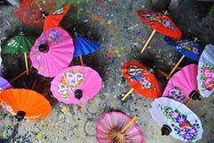 ομπρέλα εγγράφου Στοκ Εικόνες