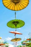 ομπρέλα εγγράφου Στοκ φωτογραφίες με δικαίωμα ελεύθερης χρήσης