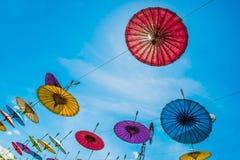 ομπρέλα εγγράφου Στοκ Φωτογραφίες