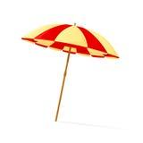 ομπρέλα διακοπών έννοιας παραλιών Στοκ φωτογραφίες με δικαίωμα ελεύθερης χρήσης