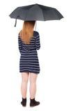 ομπρέλα κάτω από τις νεολα Στοκ Εικόνες