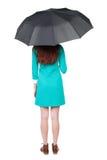 ομπρέλα κάτω από τις νεολα Στοκ φωτογραφίες με δικαίωμα ελεύθερης χρήσης