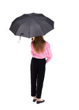 ομπρέλα κάτω από τις νεολα Στοκ εικόνα με δικαίωμα ελεύθερης χρήσης