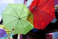 Ομπρέλες στον ουρανό στοκ φωτογραφία