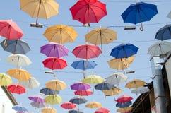 Ομπρέλες στον ουρανό, Antalya Στοκ Εικόνες