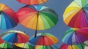 Ομπρέλες Στοκ εικόνες με δικαίωμα ελεύθερης χρήσης