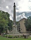 Ομόσπονδο μνημείο στο τετράγωνο ένωσης σε Raleigh, βόρεια Καρολίνα Στοκ φωτογραφία με δικαίωμα ελεύθερης χρήσης