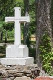 Ομόσπονδο νεκροταφείο, Reseca Γεωργία ΗΠΑ Στοκ φωτογραφία με δικαίωμα ελεύθερης χρήσης
