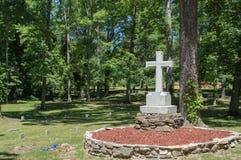 Ομόσπονδο νεκροταφείο, Reseca Γεωργία ΗΠΑ Στοκ φωτογραφίες με δικαίωμα ελεύθερης χρήσης