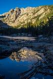 Ονείρου εθνικό πάρκο βουνών λιμνών δύσκολο Στοκ φωτογραφία με δικαίωμα ελεύθερης χρήσης
