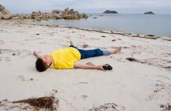 ονειρεμένος άτομο Στοκ φωτογραφίες με δικαίωμα ελεύθερης χρήσης