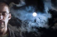 Ονειρεμένος άτομο Στοκ φωτογραφία με δικαίωμα ελεύθερης χρήσης