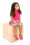 ονειρεμένος κορίτσι ημέρ&alph Στοκ φωτογραφία με δικαίωμα ελεύθερης χρήσης