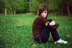 ονειρεμένος κορίτσι Στοκ φωτογραφία με δικαίωμα ελεύθερης χρήσης
