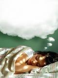 ονειρεμένος κορίτσι Στοκ φωτογραφίες με δικαίωμα ελεύθερης χρήσης