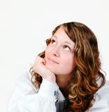 ονειρεμένος κορίτσι Στοκ Φωτογραφία