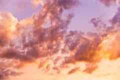 ονειροπόλος ουρανός Στοκ εικόνα με δικαίωμα ελεύθερης χρήσης