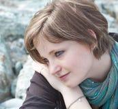 ονειροπόλο κορίτσι Στοκ Φωτογραφία