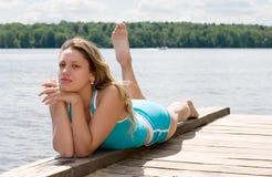 ονειροπόλο κορίτσι Στοκ εικόνα με δικαίωμα ελεύθερης χρήσης