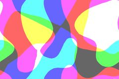 Ονειροπόλο curvy αφηρημένο υπόβαθρο με τα χρώματα κρητιδογραφιών στοκ εικόνες