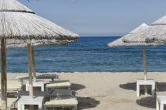 Ονειροπόλος παραλία στη Σαρδηνία στοκ εικόνα