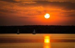 ονειροπόλο ηλιοβασίλεμα Στοκ Φωτογραφία