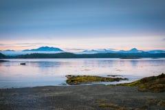 ονειροπόλο ηλιοβασίλεμα Στοκ Εικόνα