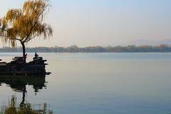 Ονειροπόλο κινεζικό τοπίο Στοκ εικόνα με δικαίωμα ελεύθερης χρήσης
