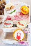 Ονομασμένα αγοράκι γλυκά συνήθειας Ayan Στοκ εικόνα με δικαίωμα ελεύθερης χρήσης
