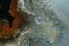 οξείδωση Στοκ εικόνα με δικαίωμα ελεύθερης χρήσης