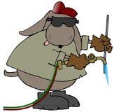 οξυγονοκολλητής σκυ&lam ελεύθερη απεικόνιση δικαιώματος