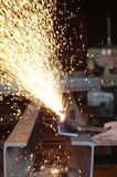 Οξυγονοκολλητής στην εργασία Στοκ φωτογραφίες με δικαίωμα ελεύθερης χρήσης