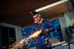 Οξυγονοκολλητής στο εργαστήριο Στοκ φωτογραφία με δικαίωμα ελεύθερης χρήσης