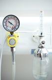 οξυγόνο εισπνοής εξοπλ&io στοκ φωτογραφία με δικαίωμα ελεύθερης χρήσης