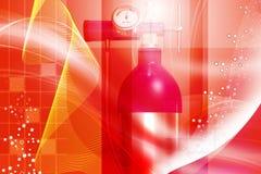οξυγόνο κυλίνδρων Στοκ Φωτογραφία