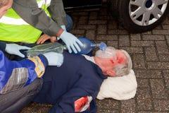 οξυγόνο μασκών Στοκ εικόνα με δικαίωμα ελεύθερης χρήσης