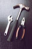 οξυδωμένα εργαλεία στοκ εικόνες