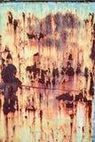 οξυδωμένη μέταλλο σύστασ&e Στοκ Εικόνα