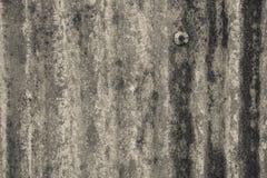 Οξυδωμένος γαλβανισμένος του πιάτου σιδήρου, παλαιά σκουριά ψευδάργυρου κατασκευασμένη για την πλάτη στοκ φωτογραφία με δικαίωμα ελεύθερης χρήσης