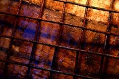 Οξυδωμένος σίδηρος και ξύλινη ταπετσαρία υποβάθρου στοκ εικόνα με δικαίωμα ελεύθερης χρήσης