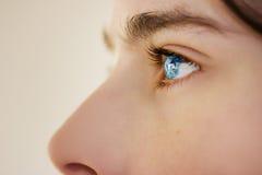 Οξυδερκής φανείτε αγόρι μπλε ματιών Στοκ φωτογραφίες με δικαίωμα ελεύθερης χρήσης