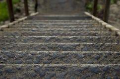 Οξυδωμένα σκαλοπάτια Στοκ Εικόνα