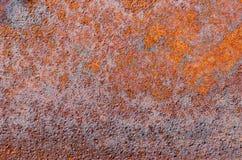 οξυδωμένη μέταλλο σύστασ&e Στοκ Φωτογραφία