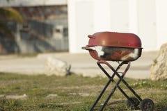 Οξυδωμένη BBQ σχάρα Στοκ εικόνα με δικαίωμα ελεύθερης χρήσης