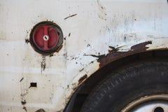 Οξυδωμένο αυτοκίνητο Στοκ Εικόνες