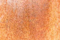 Οξυδωμένο φύλλο χάλυβα Στοκ φωτογραφία με δικαίωμα ελεύθερης χρήσης