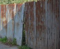 Οξυδώνοντας πύλη Στοκ φωτογραφία με δικαίωμα ελεύθερης χρήσης