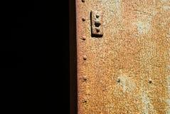 οξύδωση σιδήρου πορτών στοκ φωτογραφία με δικαίωμα ελεύθερης χρήσης