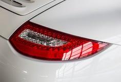 Οπίσθιο αυτοκίνητο οπίσθιων φαναριών στοκ εικόνα
