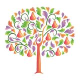 οπίσθιο δέντρο Στοκ Φωτογραφίες
